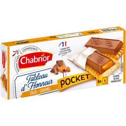 Biscuits Tableau d'Honneur choco caramel