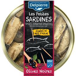 Les Petites Sardines olives noires