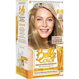 Belle color crème 11 blond clair cendré naturel