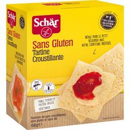 Tartines croustillantes sans gluten