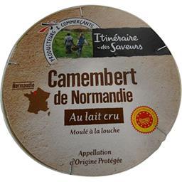 Camembert de Normandie AOP au lait cru