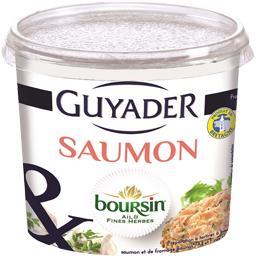 Préparation à tartiner saumon Boursin ail & fines he...