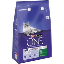 Croquettes lapin et céréales complètes pour chats adul