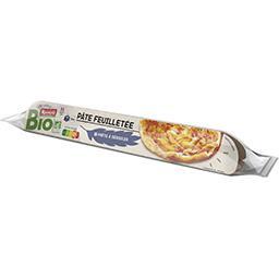 Pâte feuilletée avec farine de blé complète BIO