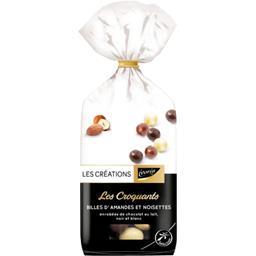 Les Créations L'Assortiment Gourmand de bonbons de chocolat le sachet de 180 g
