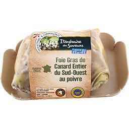 itinéraire des Saveurs Foie gras de canard entier du Sud-Ouest le foie gras de 250 g