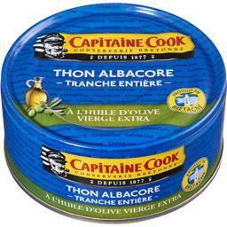 Thon albacore à l'huile d'olive vierge extra