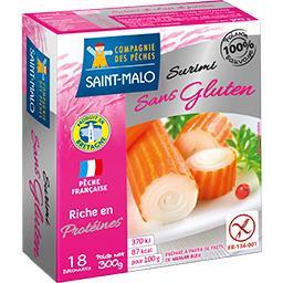 Bâtonnets surimi sans gluten