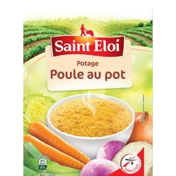 Potage poule au pot