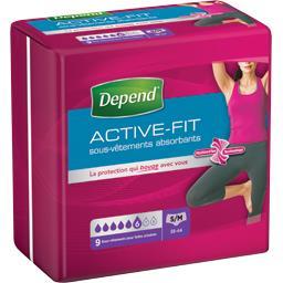 Sous-vêtements absorbants Active-Fit taille S/M : 38-44