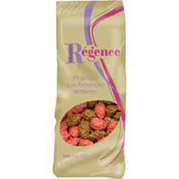 Régence Pralines aux amandes entières caramel & rouge le sachet de 500 g