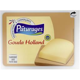 Pâturages Gouda Holland IGP le fromage de 250 g