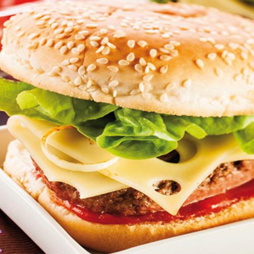 Hamburger façon Leerdammer