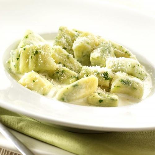 Gnocchis de pommes de terre au gorgonzola