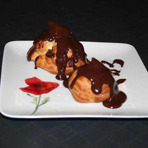 Profiteroles chocolat de Claude G.