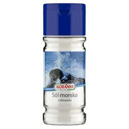 Sól morska jodowana