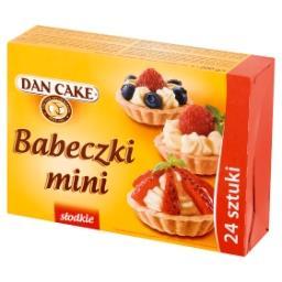 Babeczki mini słodkie  (24 sztuki)