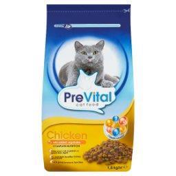 Karma dla kotów z drobiem i dodatkiem warzyw
