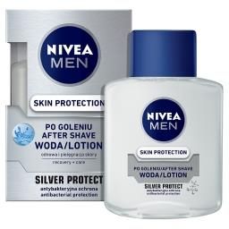 MEN Silver Protect Woda po goleniu