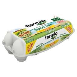 Jaja świeże od kur karmionych paszą z soją bez GMO L 10 sztuk
