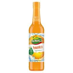 Syrop o smaku pomarańczowym