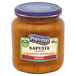 Kapusta zasmażana z suszonymi pomidorami