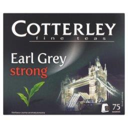 Herbata czarna Earl Grey Strong 75 saszetek