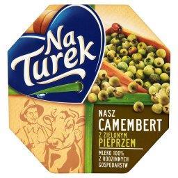 Nasz Camembert z zielonym pieprzem Ser