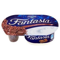 Fantasia Jogurt kremowy z czekoladą mleczną