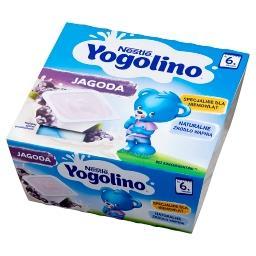 Yogolino Deserek mleczno-owocowy jagoda po 6 miesiącu 400 g (4 x )