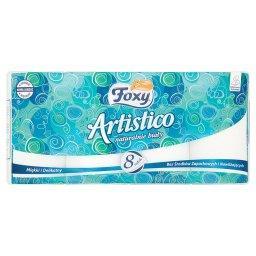 Artistico Naturalnie biały Papier toaletowy 8 rolek