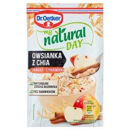 My natural day Owsianka z chia jabłko-cynamon
