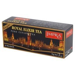 Royal Elixir Knight Czarna ekspresowa herbata cejlońska 50 g (25 torebek)