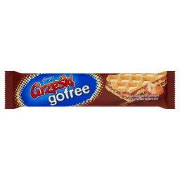 Gofree Wafel przekładany kremem o smaku czekoladowym z orzechami laskowymi
