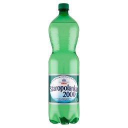 2000 Naturalna woda mineralna wysokozmineralizowana gazowana 1,5 l