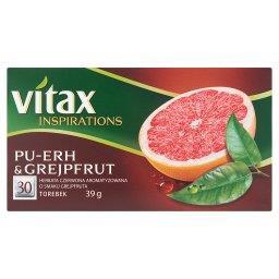 Inspirations Pu-Erh and Grejpfrut Herbata czerwona owocowa  (30 torebek)