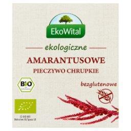 Ekologiczne amarantusowe pieczywo chrupkie
