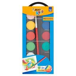 Kids Farby akwarelowe 12 kolorów
