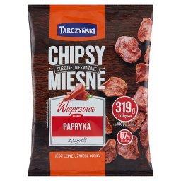 Chipsy mięsne wieprzowe o smaku papryka z szynki