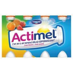 Actimel Wieloowocowy Mleko Fermentowane 800 g (8 sztuk)