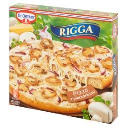 Rigga Pizza z pieczarkami