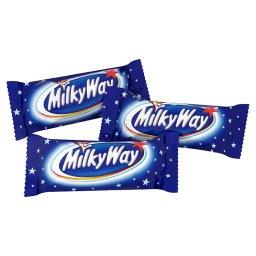 Minis Batoniki z białym nadzieniem oblane czekoladą