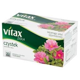 Zioła Czystek Suplement diety Herbatka ziołowa 30 g (20 torebek)