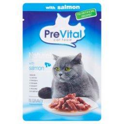 Naturel Pełnoporcjowa karma dla kotów z łososiem w sosie