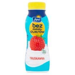 Jogurt truskawkowy bez dodatku cukrów