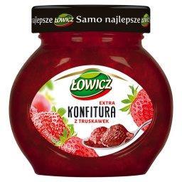 Konfitura extra z truskawek o obniżonej zawartości c...
