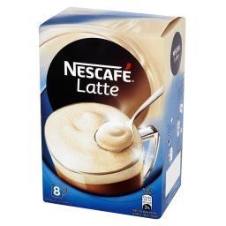 Latte Rozpuszczalny napój kawowy  (8 sztuk)