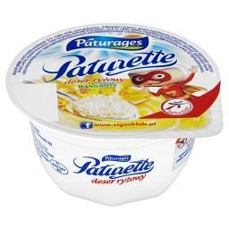 Paturette Deser ryżowy o smaku waniliowym