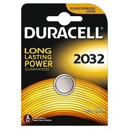 Bateria specjalistyczna litowa guzikowa pastylkowa duracell typ 2032