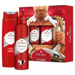 Captain Zestaw Dezodorant wsprayu 150 ml + Żel pod prysznic 250 ml